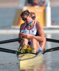 Cath Bishop Olympic rower