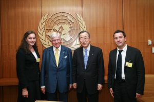 Cath Bishop at United Nations
