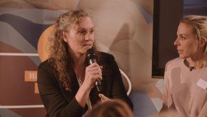 Cath Bishop Speaker being interviewed
