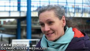 Cath Bishop Olympic Silver medallist